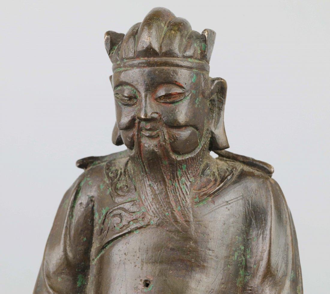Bronze Immortal Statue (Ming Dynasty) - 6