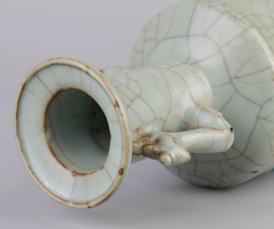 """Ge-Type"" Crack Glazed Vase (Song Dynasty); - 5"