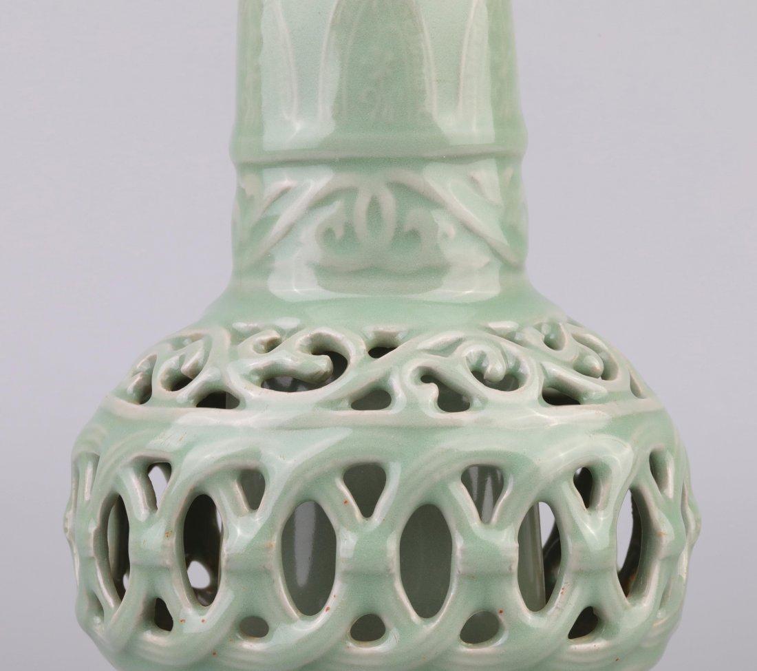"""Longquan"" Celadon Vase (Song Dynasty) - 5"
