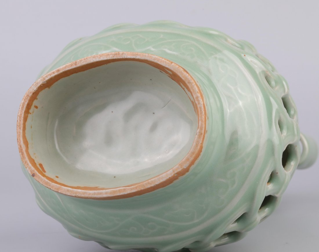"""Longquan"" Celadon Vase (Song Dynasty) - 6"
