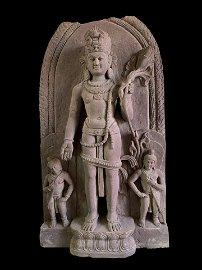 STONE BUDDHIST STATUE
