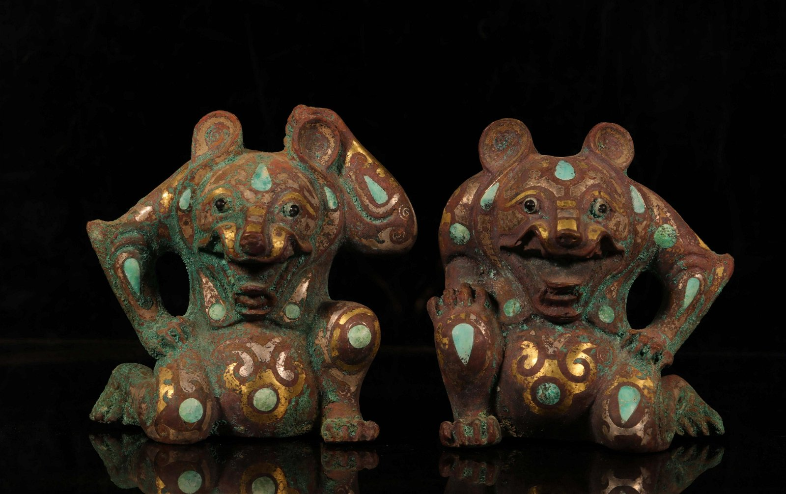 CHINESE BRONZE PAPER WEIGHTS