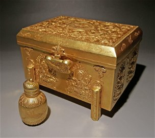 A CHINESE VINTAGE RELICS RELATED ITEM