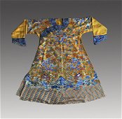 A CHINESE EMPEROR'S ROBE