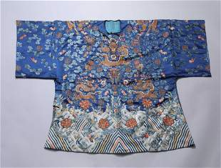 A CHINESE VINTAGE EMPEROR'S SHIRT