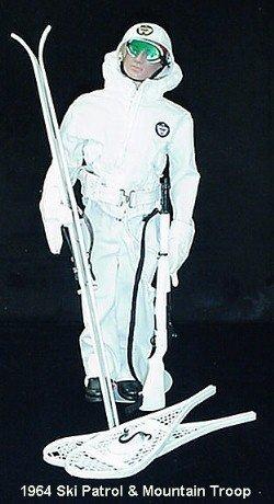 1002:      1964 HASBRO GI SKI PATROL & MOUNTAIN TROOPS,
