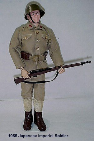 1012:      1966 HASBRO GI JOE JAPANESE IMPERIAL SOLDIER