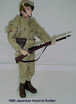 1022:      1966 HASBRO GI JOE JAPANESE IMPERIAL SOLDIER