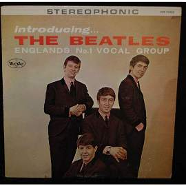 """Super Rare 1964 Stereo """"Introducing the Beatles"""""""