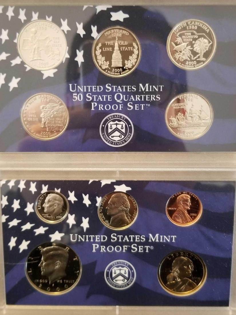 Lot of 4 United States Mint proof sets - 3