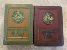 Two antique coin banks circa 1923-1930