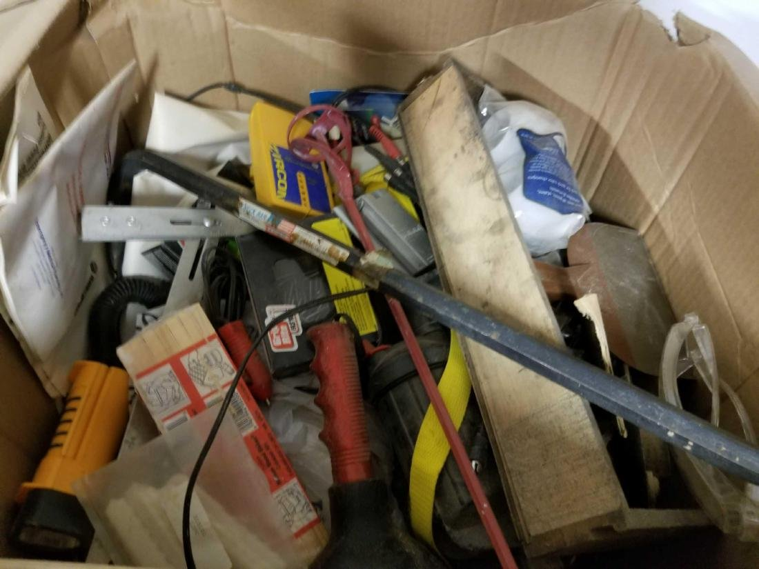 Mystery box full of unsorted tools