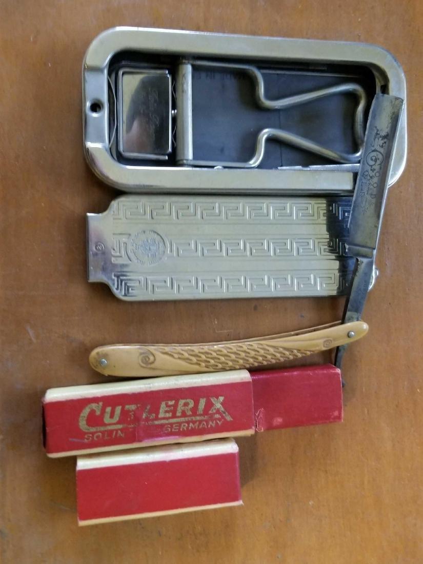Antique shaving items