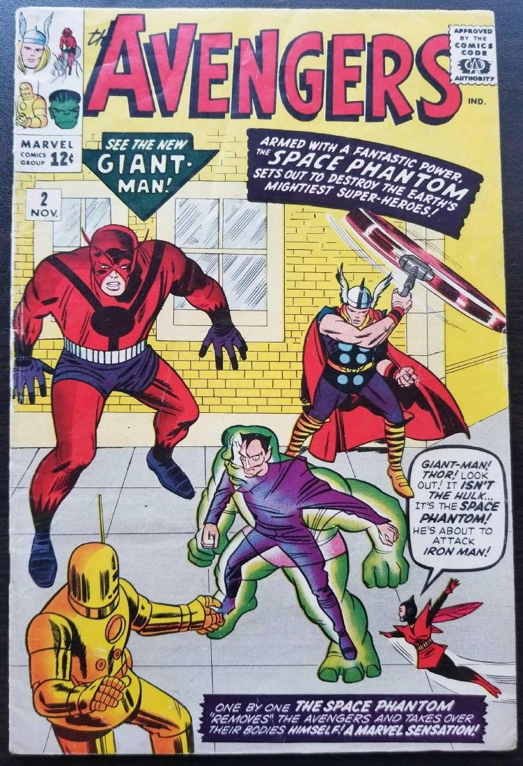 The Avengers comic book #2