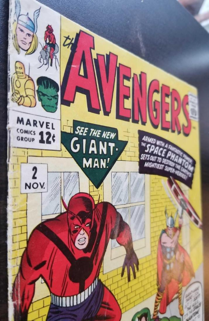 The Avengers comic book #2 - 3