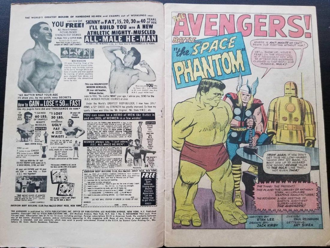 The Avengers comic book #2 - 5
