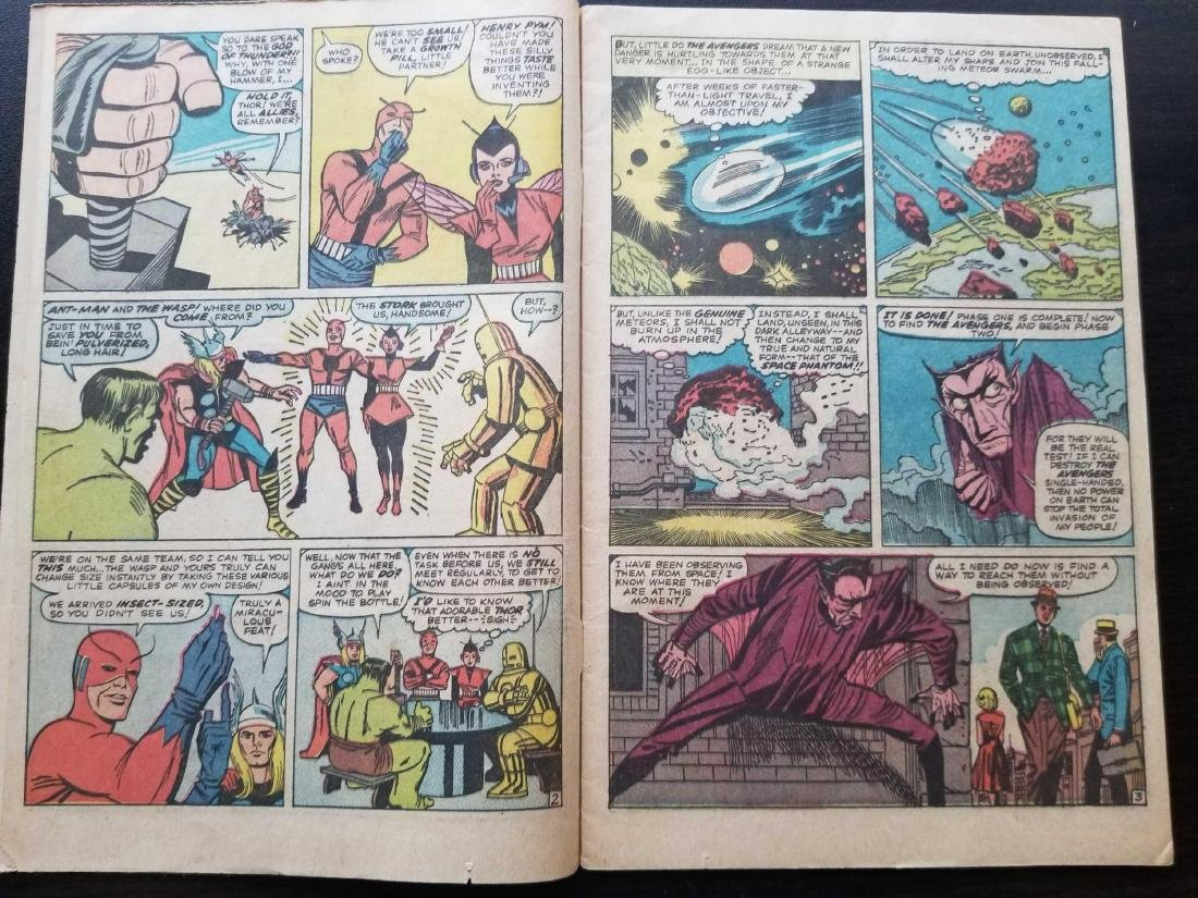 The Avengers comic book #2 - 6