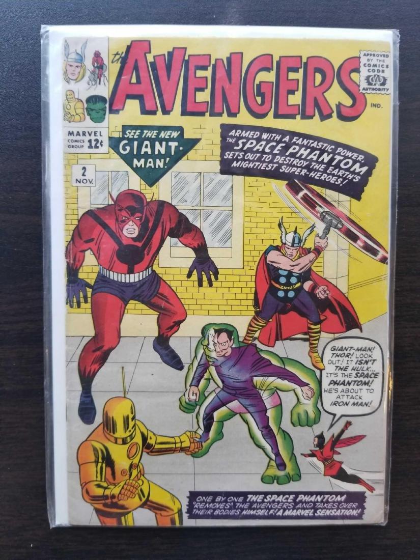The Avengers comic book #2 - 7
