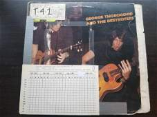 George Thorogood and the Destroyers early vinyl album
