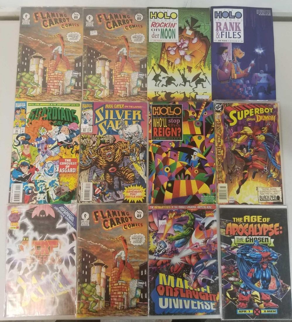 Assorted comic books