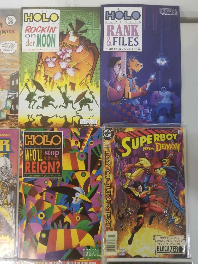 Assorted comic books - 3