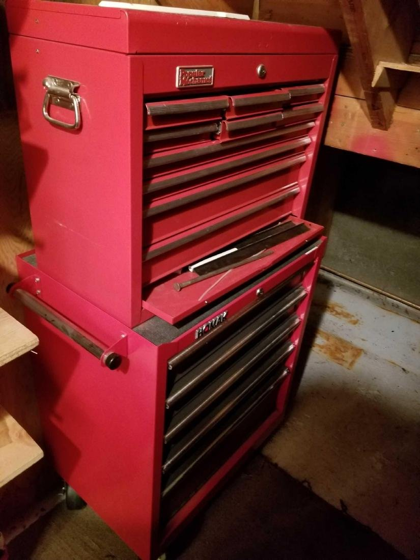 Two large tool boxes full of quality contents