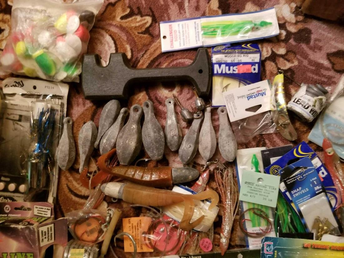Large lot of fishing tackle - 2