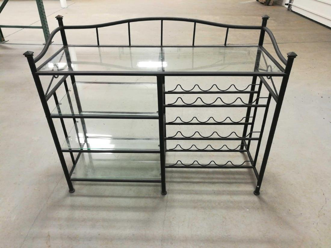 Metal & Glass Wine Racks and Shelves