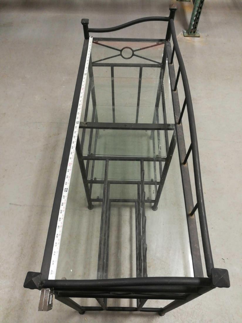 Metal & Glass Wine Racks and Shelves - 2