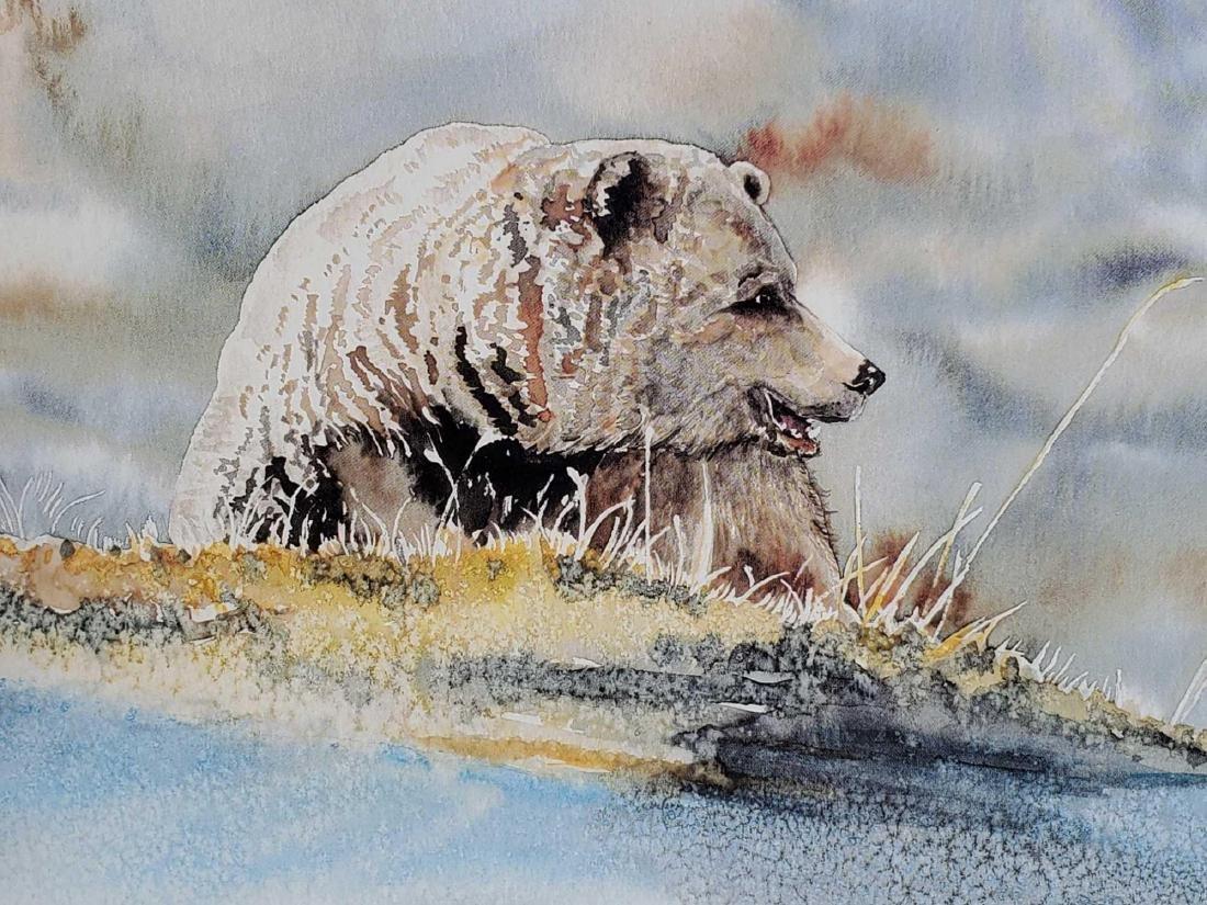 "Keith Greba  ""Grizzly"" Artist's Proof print"