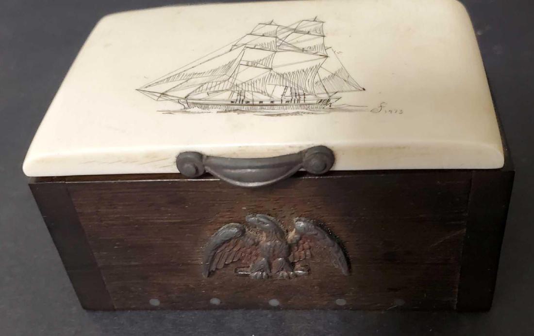 Two Alaskan trinket boxes - 4