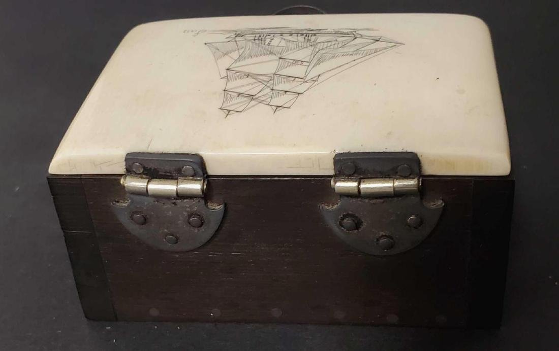 Two Alaskan trinket boxes - 5