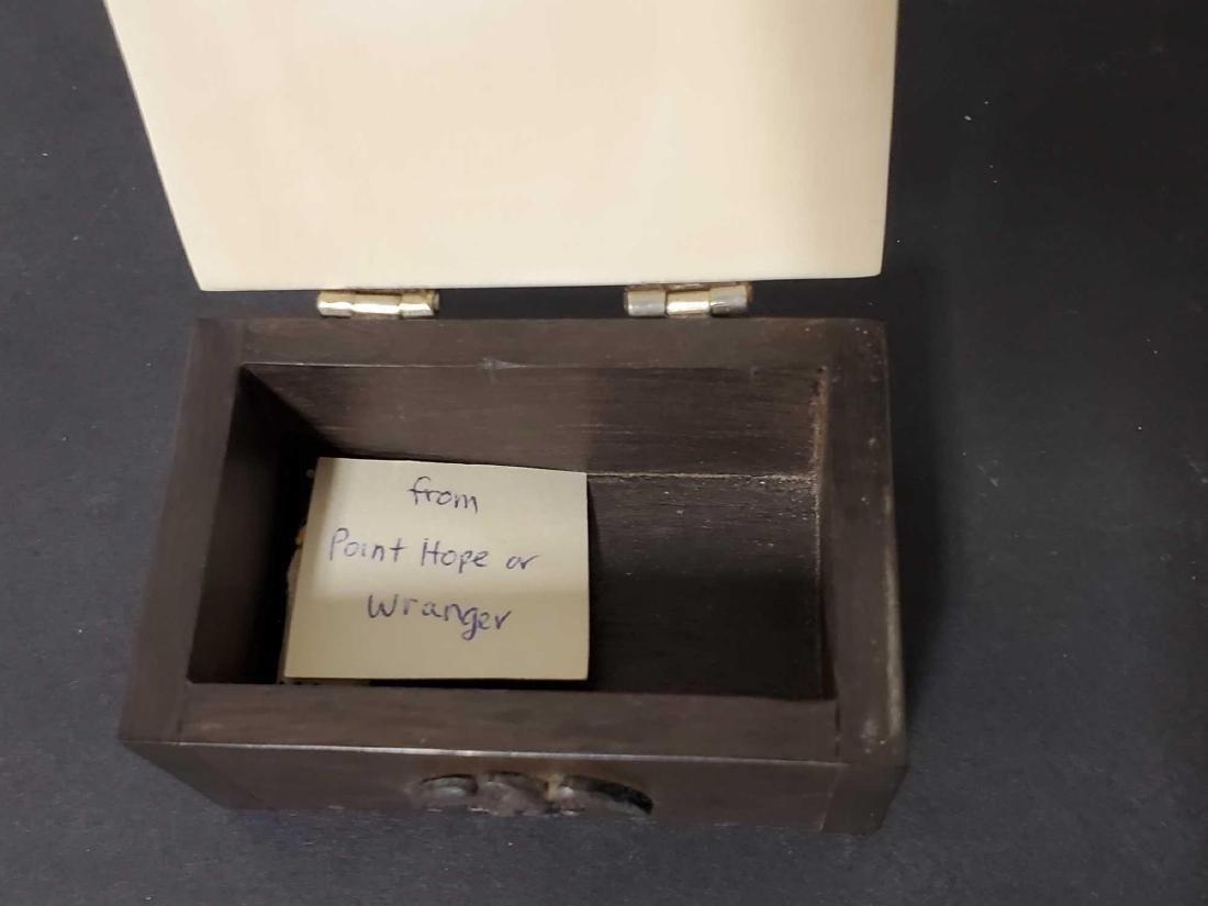 Two Alaskan trinket boxes - 6