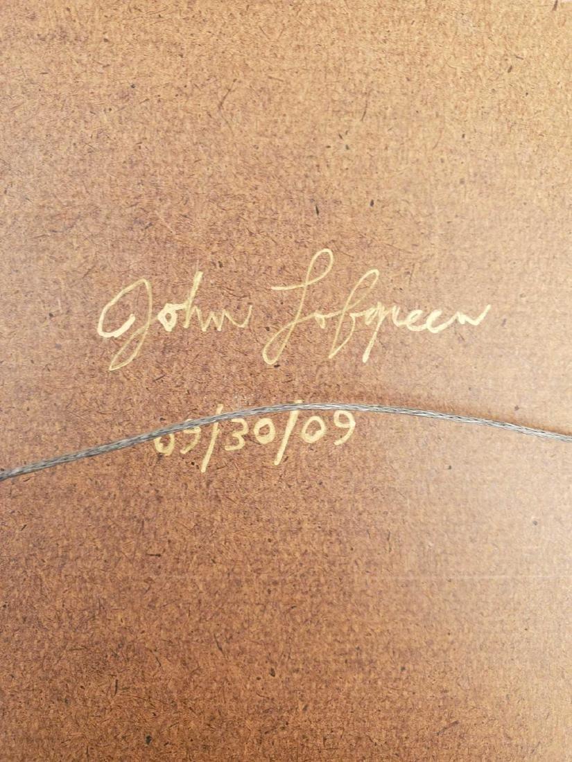 """John Lofgreen (B.1955) """"Dinner is Served"""" - 4"""