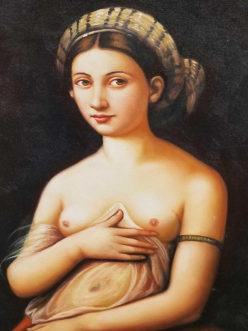 Contemporary nude original oil painting - 2