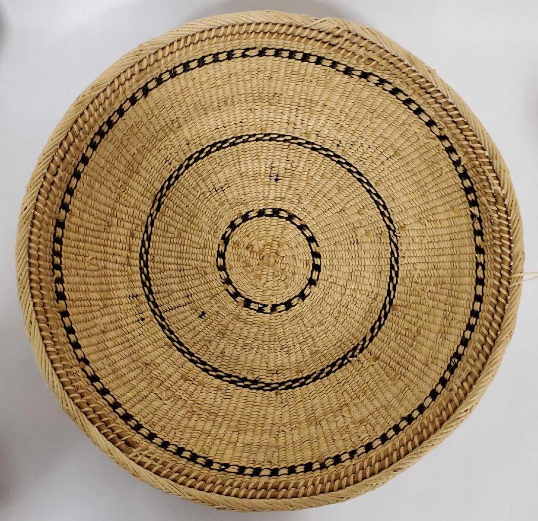 Lot of South American woven baskets, etc. - 3