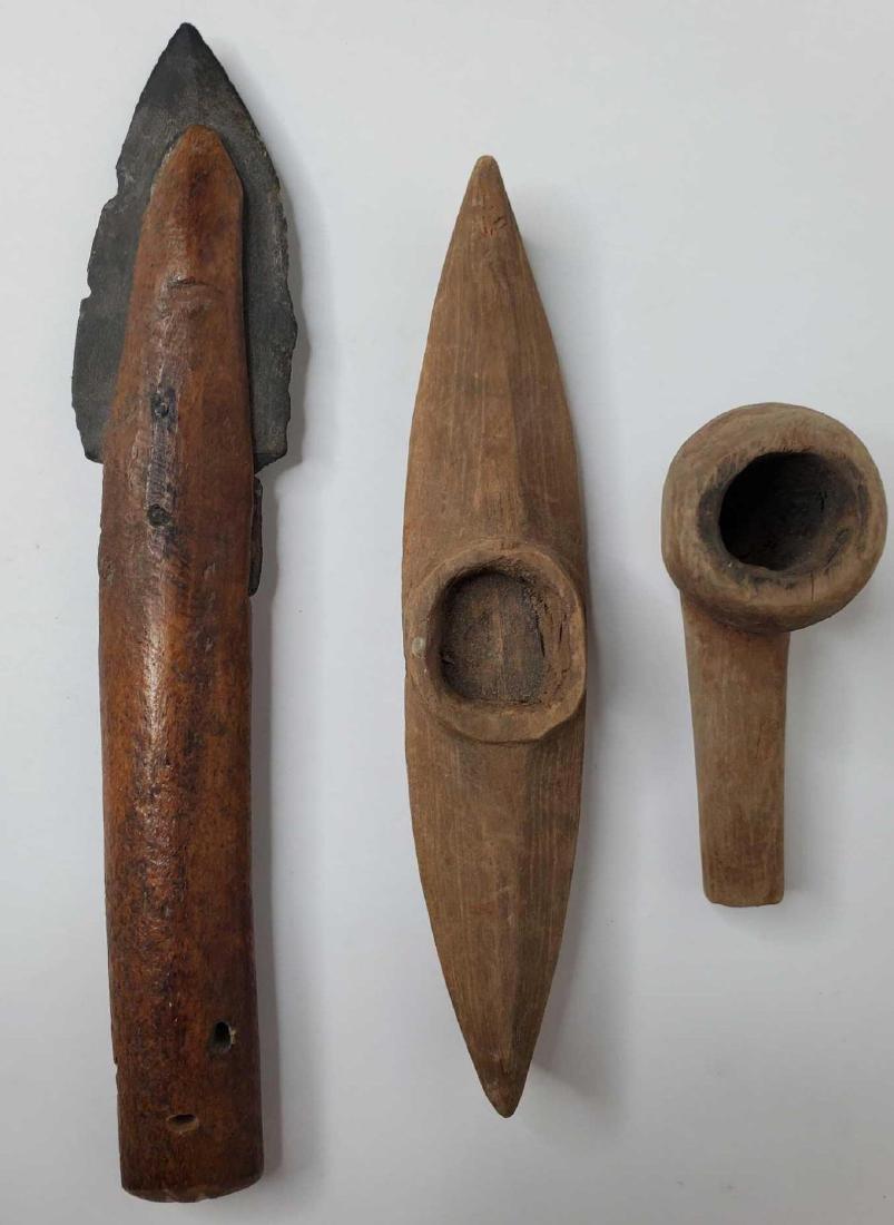 Group of Eskimo artifacts