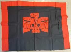 Contemporary Tlingit blanket