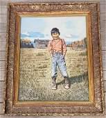 William Rosent (American, 20th c.) Portrait of Alaska