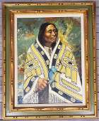 Harvey Goodale (1900-1980) Tlingit Chief Portrait