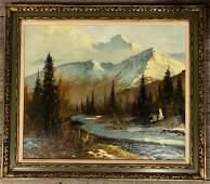 Ellen Henne Goodale (1915-1991) Fall Landscape