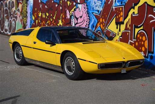 Maserati Bora 4.9, 1973