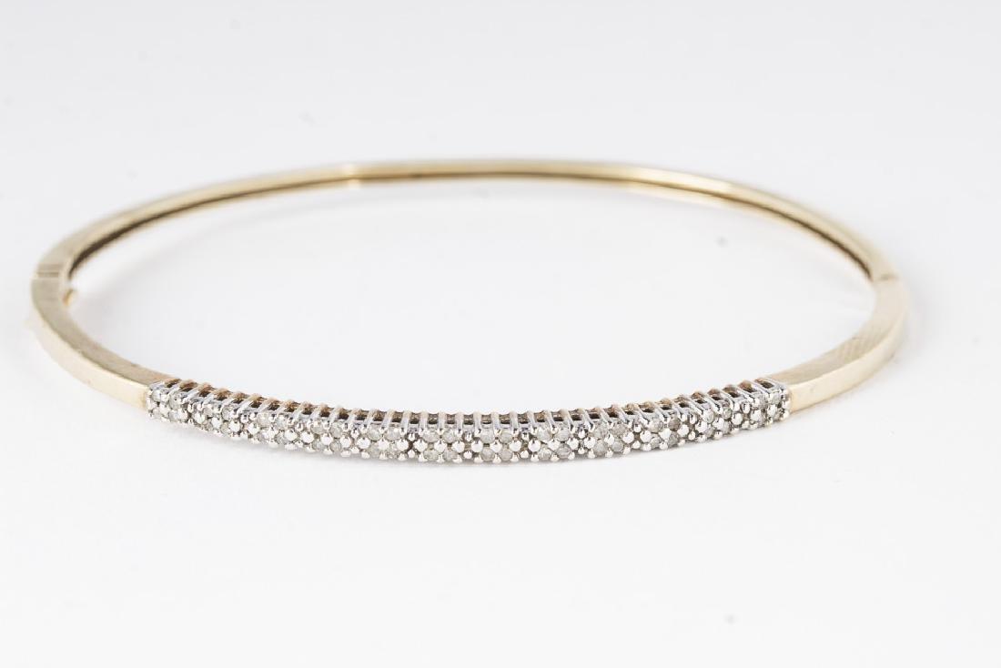 Diamond &10KT Gold Bracelet