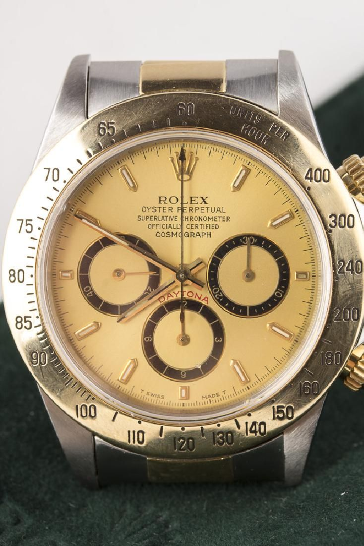 ROLEX Daytona Cosmograph Stainless & 18KT Gold