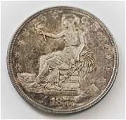1877 US Silver Trade $
