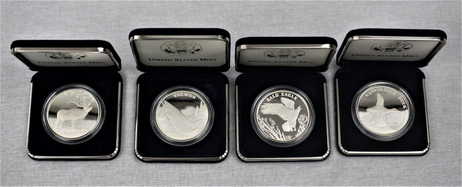 2003 Silver National Wildlife Refuge Centennial Medals