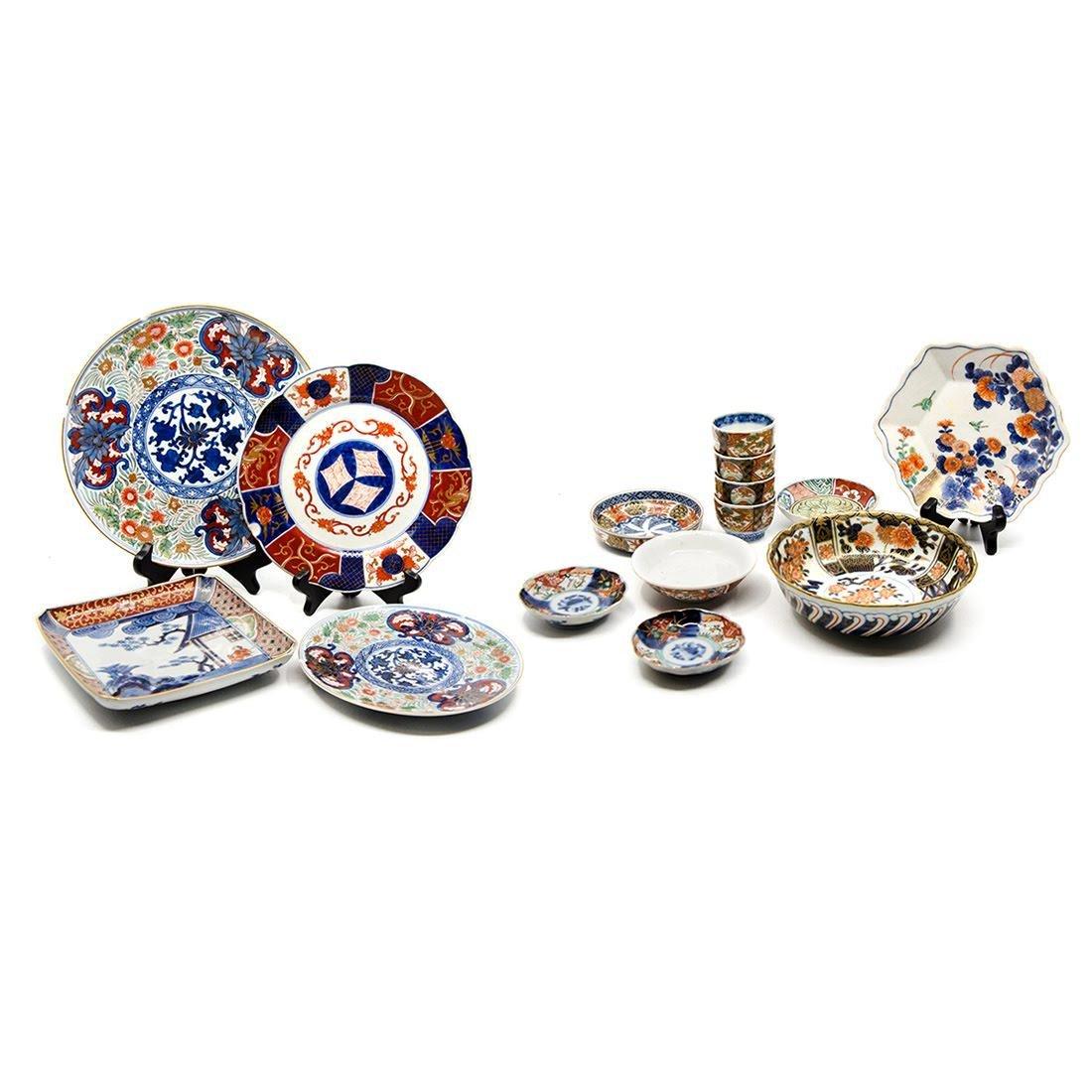 Collection of Antique Imari Porcelain