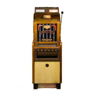 1937 Jennings 5 and 25 Cent Cigarette Slot Machine