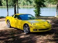 2010 Yellow Chevrolet Corvette 9000 Miles