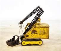 1960's Tonka Dragline Crane Excavator Toy